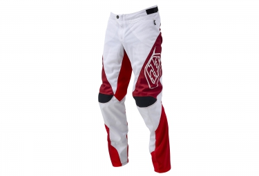 Troy lee designs pantalon sprint blanc rouge 34