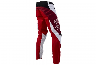 troy lee designs 2016 pantalon sprint blanc rouge 34