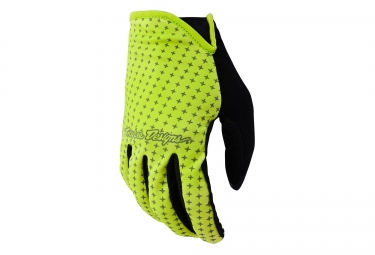 troy lee designs gants sprint jaune s