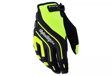 troy lee designs gants ruckus jaune m