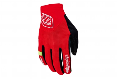 Troy lee designs gants ace rouge s
