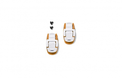 SIDI BoucleMicrolock Orange/Blanc
