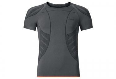 ODLO T-Shirt Manches Courtes EVOLUTION LIGHT TREND Gris