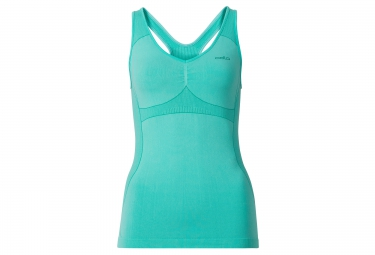 odlo debardeur evolution light trend bleu femme s