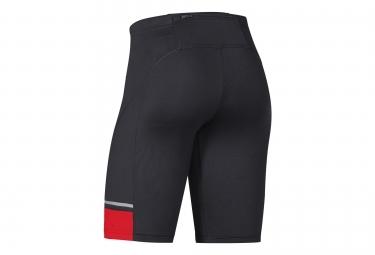 GORE RUNNING WEAR Cuissard MYTHOS Noir Rouge