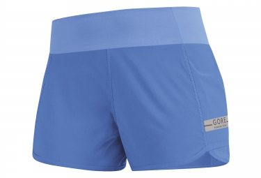 gore running wear short air lady bleu femme xs