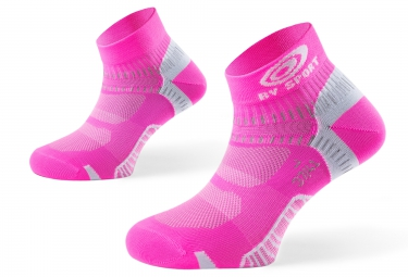 Bv sport paire de chaussettes light one rose 36 38