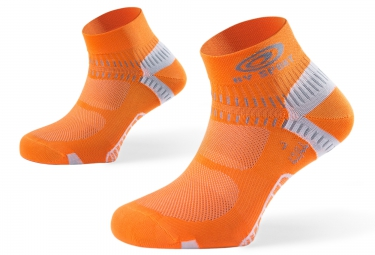 bv sport paire de chaussettes light one orange 39 41