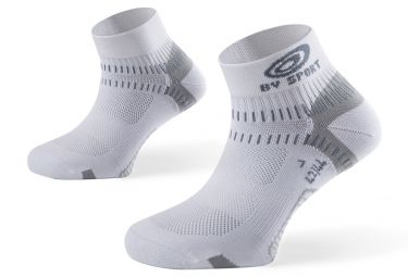 bv sport paire de chaussettes light one blanc 42 44