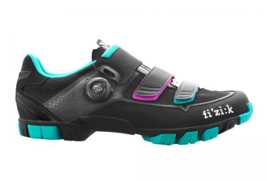 paire de chaussures femme vtt fizik m6b uomo noir bleu 36