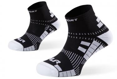 bv sport paire de chaussettes xlr noir 36 38