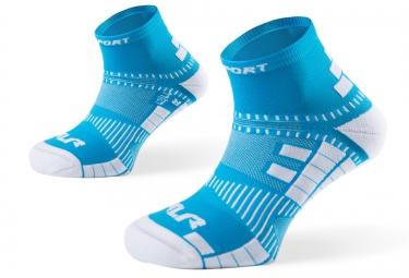 bv sport paire de chaussettes xlr bleu 39 41