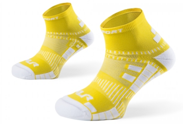 Image of Bv sport paire de chaussettes xlr jaune 45 47