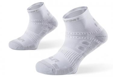 bv sport paire de chaussettes xlr blanc 36 38