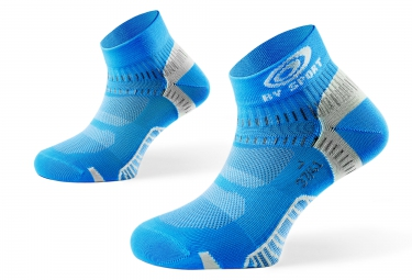 bv sport pack booster elite socquettes pointure 40 45 bleu ciel l