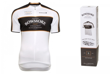 ENDURA Short Sleeves Jersey BOWMORE Whisky White