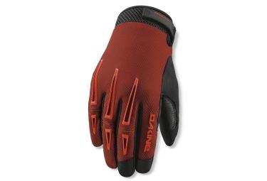 dakine 2016 paire de gants traverse rouge s