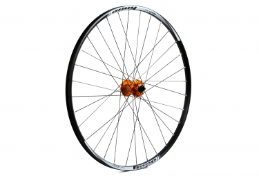 Roue avant hope tech xc pro 4 29 15 9x100 mm orange