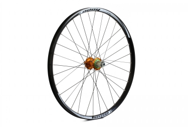 Roue arriere hope tech enduro pro 4 27 5 9x135 mm corps shimano sram orange