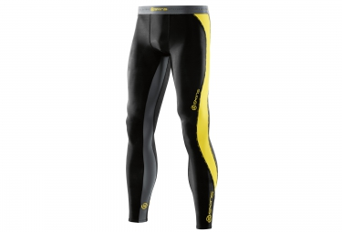 collant de compression skins dnamic homme noir jaune xl