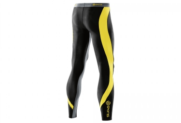 collant de compression skins dnamic homme noir jaune s