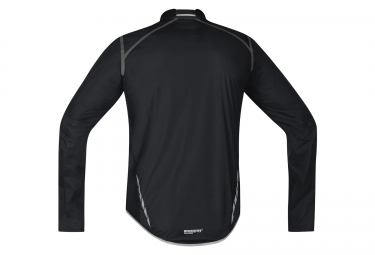 gore bike wear veste oxygen windstopper active shell light noir s