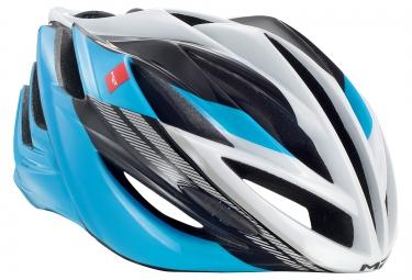 casque met forte bleu noir blanc l 60 62 cm