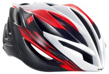 casque met forte noir blanc rouge l 60 62 cm