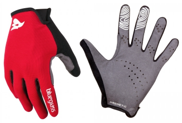 BLUEGRASS Paire de Gants MAGNETE LITE Rouge