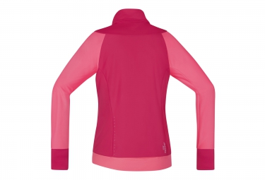 gore bike wear veste power trail windstopper rose femme s