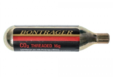 bontrager cartouche de co2 filetee 16g