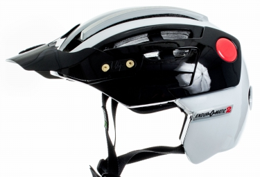 Urge Endur-O-Matic 2 Casco Negro Blanco