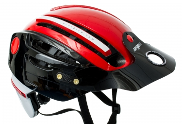 Casque urge endur o matic 2 noir rouge s m 54 57 cm