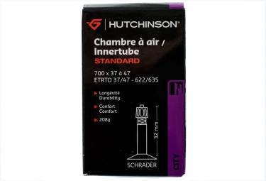 HUTCHINSON Chambre à Air STANDARD 700 x 37 - 47mm Schrader