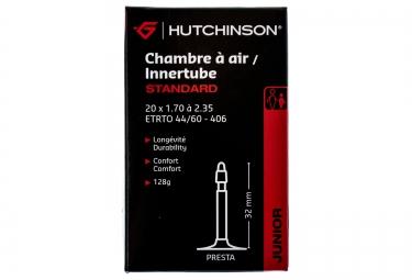 Camera d´aria HUTCHINSON STANDARD 20 x da 1.70 a 2.35 valvola Presta 32 mm