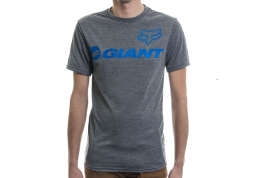 fox tee shirt giant tech tee gris m