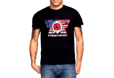 FREEVISION T-Shirt AMERICAN IDOL Noir