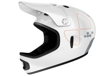 casque integral poc cortex flow blanc s m 53 55 cm