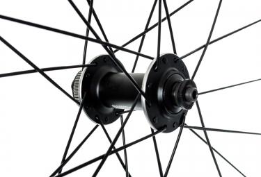 SHIMANO Roue Avant MT35 29´´ 9mm Centerlock Noir