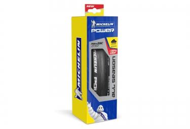 Rennrad Reifen MICHELIN Power All Season - 700 mm - Schwarz