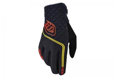 troy lee designs 2016 gants hiver ace noir rouge s