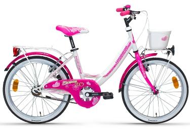 Vélo Enfant Lombardo MARIPOSA 20'' Blanc / Rose