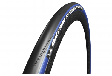 pneu michelin power endurance 700 mm tringle souple bleu 25 mm