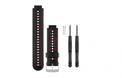 GARMIN Forerunner 230/235/630 Wrist Straps Black/Red