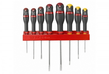 FACOM Set of 8 Screwdriver PROTWIST