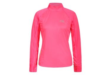 Maillot manches longues femme li ning scarlet rose xs