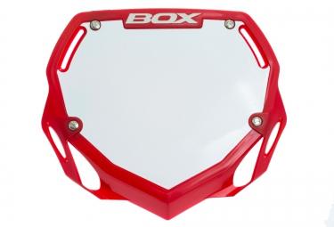 BOX Plaque PHASE 1 Rouge