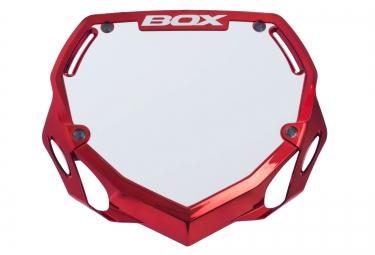 BOX Plaque PHASE 1 Rouge Chrome