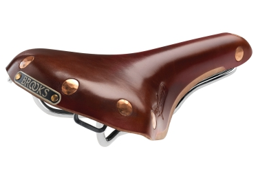 Brooks selle swift chrome marron