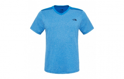 the north face maillot reactor bleu homme xl